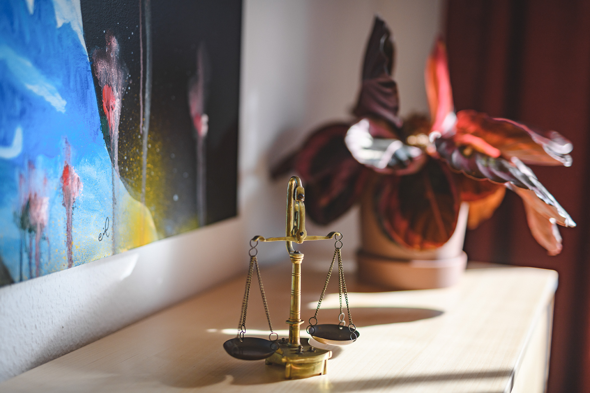 In criminal law you can be a victim of or suspected of a crime